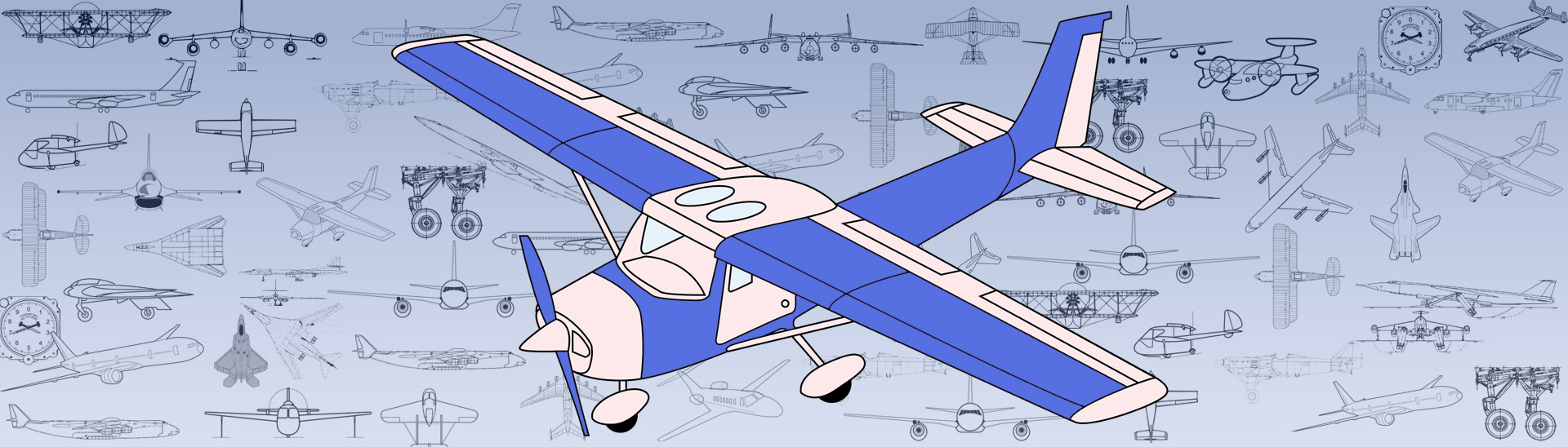 The main Structure of airplanes